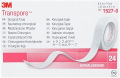 3M Transpore Tape 12mm (24 rolls)
