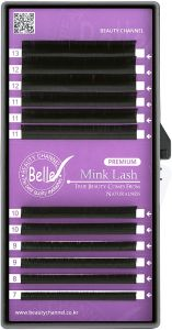 Belle Premium Mink, Classic Eyelash Extensions, CC 0.15