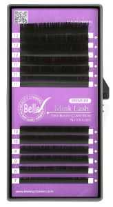 Belle Premium Mink, Classic Eyelash Extensions, C 0.12